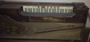 Old Square Piano